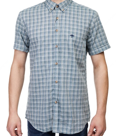 7962-17 Рубашка мужская (кор.рукав) S-2XL по 6