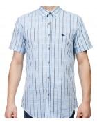 7962-4 Рубашка мужская (кор.рукав) S-2XL по 6