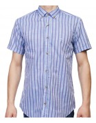 7962-5 Рубашка мужская (кор.рукав) S-2XL по 6