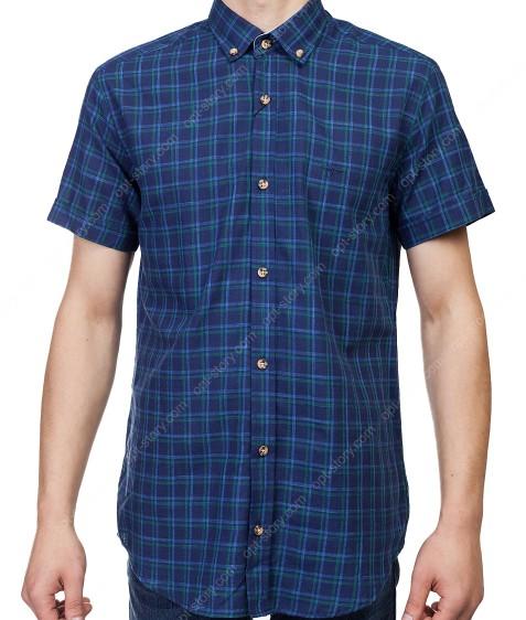 7962-6 Рубашка мужская (кор.рукав) S-2XL по 6