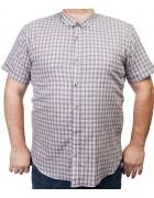 7963-1 Рубашка муж.(кор.рукав) 3XL-6XL по 4