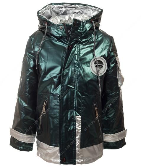 B-802 зеленый Куртка мальчик 104-128 по5