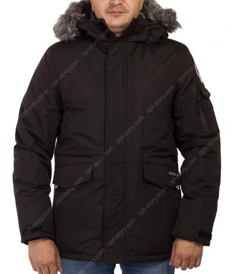 81706 черн. Куртка мужская M-3XL по 5