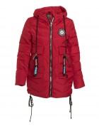 HL-0806 красн. Куртка девочка 134-158 по 5  (140,152)
