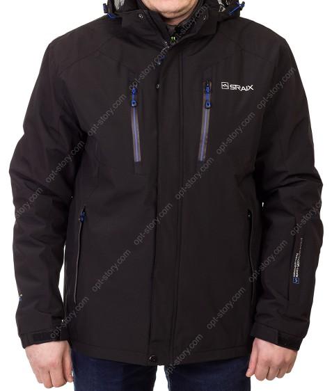 8220 чёрн Куртка мужская 2XL-5XL по 5