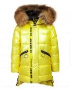 112 жёлт. Куртка девочка  116-140 по 5 шт.