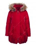 Z-2101 красн. Куртка девочка 140-164 по 5 шт.