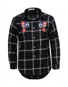 GCS-6884 Рубашка удлиненная девочка 134-164 48/12