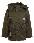 W-109 хаки Куртка мальчик  92-116 по 5