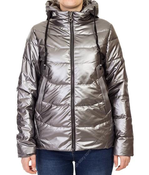 881# сер Куртка женская М-2XL по 4