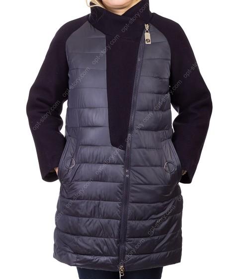 1860# т.син Куртка женская 48-56 по 5