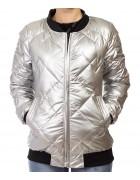 7839 серый Куртка женская M-2XL по 4