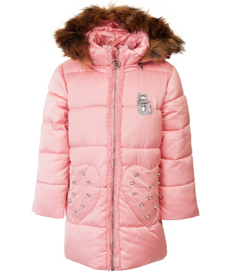 B-15 роз. Куртка девочка  92-116 по 5
