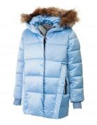 32491 голуб. Куртка девочка 104-128 по 5