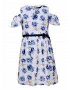 GYQ-8121 Платье девочка 110-160 48/12