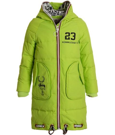 001-2016 салат. Куртка дев. 120-150 по 4