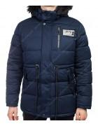 8807 син. Куртка мужская  M-3XL по 6