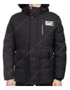 8807 черн. Куртка мужская  M-3XL по 6
