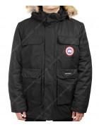 8809-2 черн. Куртка мужская  M-3XL по 6