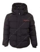 BMA-1625 черн. Куртка мальчик 134-170 по 4
