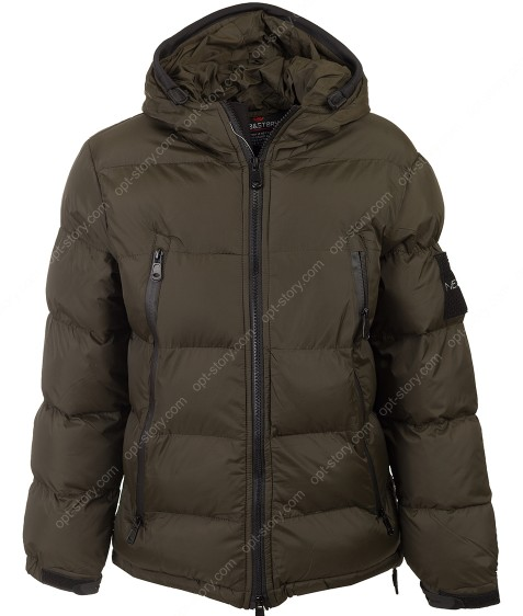 BMA-1645 хаки. Куртка мальчик 134-170 по 4