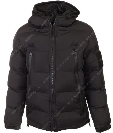BMA-1645 черн. Куртка мальчик 134-170 по 4