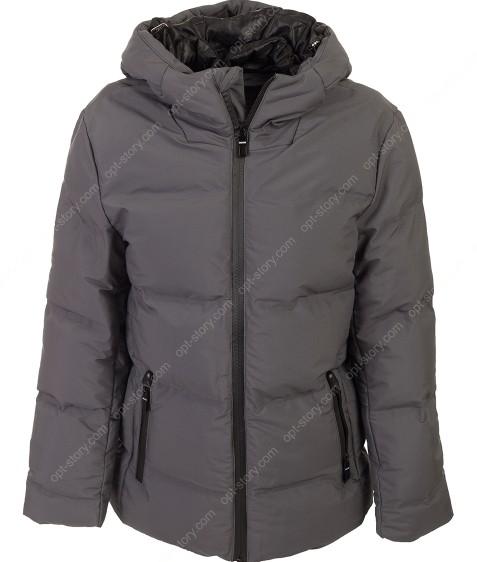 BMA-1682 т.серый. Куртка мальчик 134-170 по 4