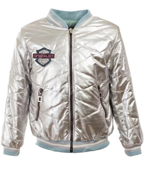 18002 серебро Куртка девочка 134-158 по 5