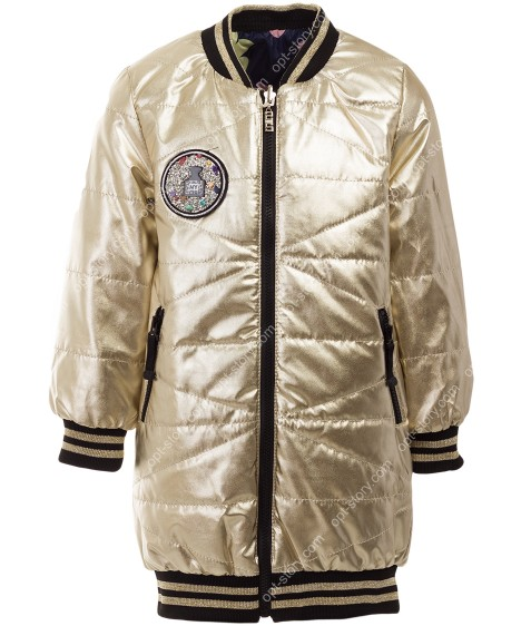 18004 золото Куртка девочка 110-128 по 4