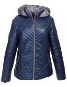 1025 син Куртка женская 2XL-6XL по 5