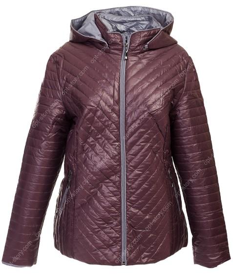 1025 фиолет Куртка женская 2XL-6XL по 5
