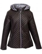 1025 чёрн Куртка женская 2XL-6XL по 5
