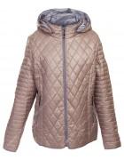 1072 беж Куртка женская 3XL-7XL по 5