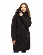 43218  черн. Куртка женская S-3XL по 6