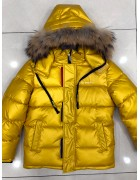 876 желт Куртка мальчик 122-146 по 5