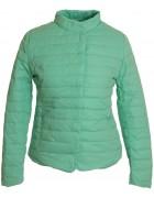 8819 бирюз.Куртка женская M-2 XL по 4
