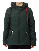 885# зел Куртка женская S-2XL по 5