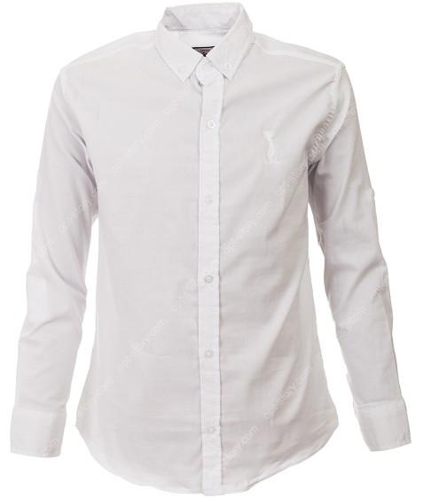 G-656 бел Рубашка мальчик 11-15 по 5
