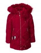 HL-916 красн.Куртка девочка 92-116 по 5
