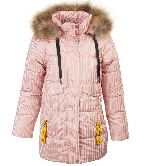 A-07 пудра Куртка девочка 134-158 по 5