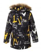 A-12 желт. Куртка мальчик 122-146 по 5
