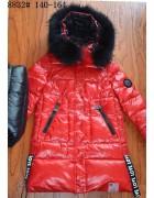 8832 красный Пальто девочка 140-164