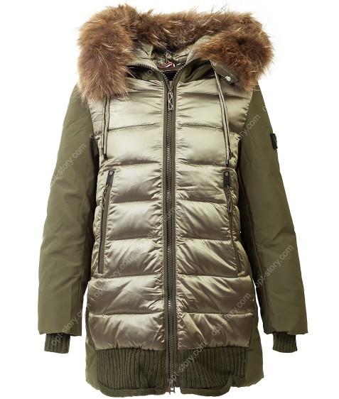 373 олива Куртка девочка 140-164 по 5