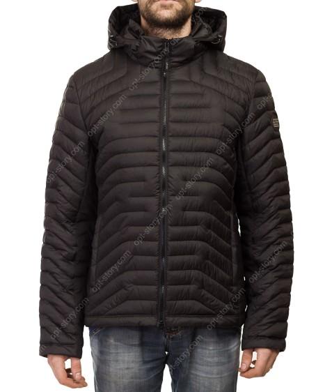 Т-239 чёрн Куртка мужская M-XXL по 5