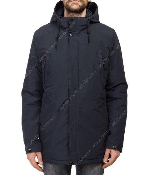 Т-266 т.син Куртка мужская M-XXL по 5