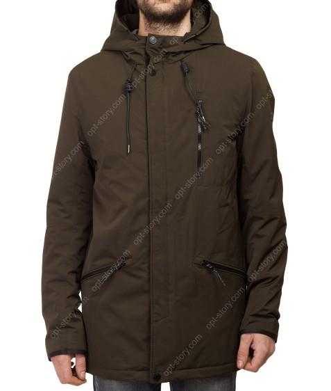 Т-271 зел Куртка мужская M-XXL по 5