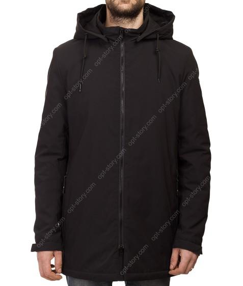 Т-272 чёрн Куртка мужская M-XXL по 5