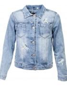 FA603 Пиджак джинсовый девочка 4-12 по 5