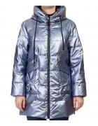 F676# син Куртка женская S-2XL по 5