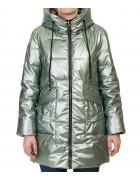 F676# зел Куртка женская S-2XL по 5